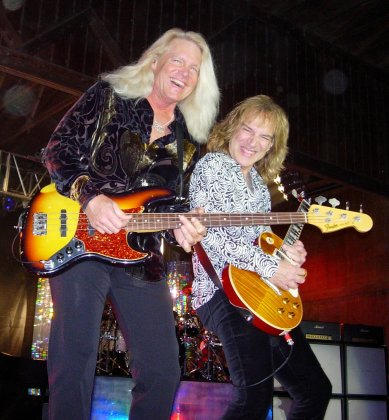 Bruce Hall and Dave Amato